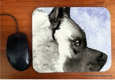 MOUSE PAD NORWEGIAN ELKHOUND POUT  BY  Amy Bolin