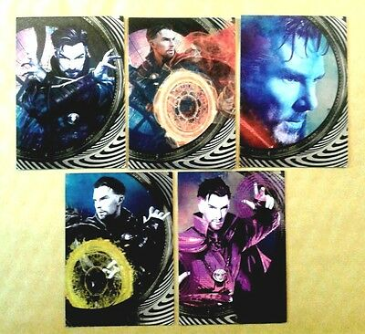 Adrenalyn Xl Doctor Strange Limited Edition Cards # A,b,c,d,e - Add To Basket