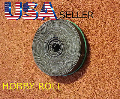 (1) 120 Emery Cloth Hobby Roll Sand Paper