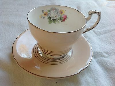 Paragon - Floral Decoraion Cabinet Display Cup & Saucer