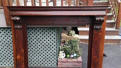 vintage fireplace mantel