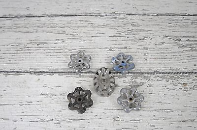 5 Vintage Water Valve Faucet Handles Knobs Steampunk  #3
