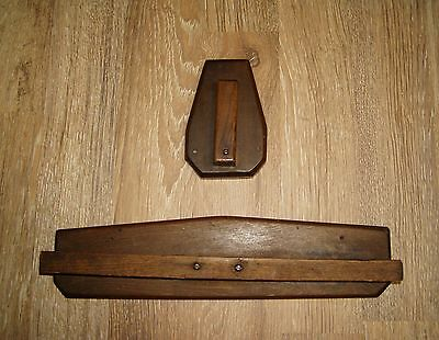 Craftsman Mission Style Jacket and Hat Rack