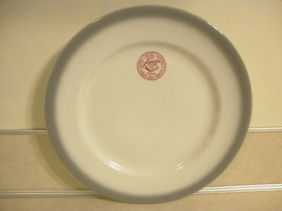 Restaurant Ware Shenango China North Central College Naperville Illinois Plate!