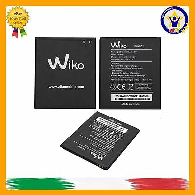 BATTERIA ORIGINALE WIKO RAINBOW RAINBOW JAM 3G BARRY BLOOM 2000mAh