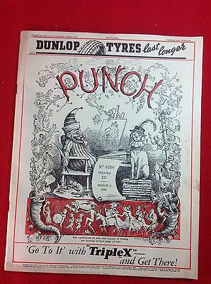 Vintage : PUNCH Magazine : 5th March 1941