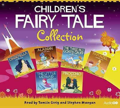 Children's Fairy Tale Collection 6 CD Audio book box set new sealed freepost UK
