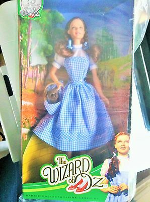 Brand NEW The Wizard Of Oz Dorothy the 75th anniversary Barbie Doll/Excellent