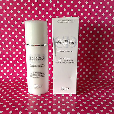 Christian Dior Purifying Cleansing Milk (Normal/Combi Skin) 200ml - New & Sealed