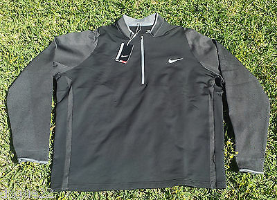$150 2016 Nike Tiger Woods TW Tech 1 Men's Golf Sweater Pull Over  SIZE XXL