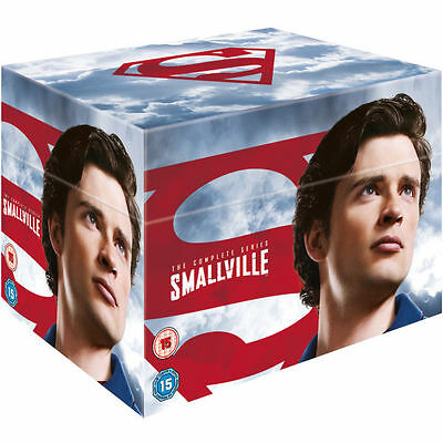 Smallville Seasons 1-10 Complete Dvd Box Set Series *new And Sealed* Uk