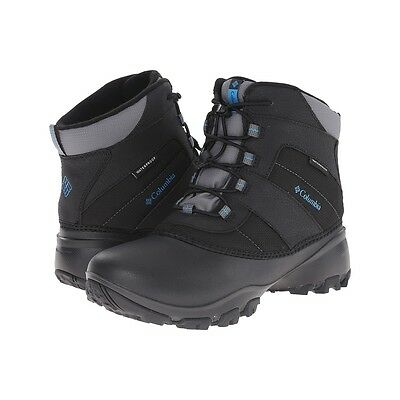 Columbia Boys Shoes Youth Rope Tow Iii Waterproof Winter Boots Black