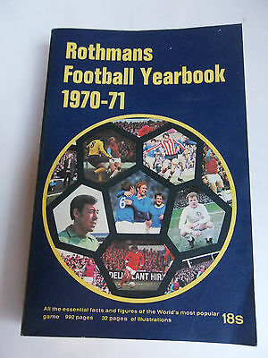 ROTHMANS FOOTBALL YEARBOOKS, 1970-71(1st Edition) to 1993-4