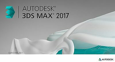 3Ds Max 2017 [ Licence / Key ] - 3 Years Term, avalaible on 2 devices