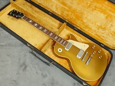 STUNNING original vintage 1969 1970 Gibson Les Paul Deluxe Goldtop + OHSC