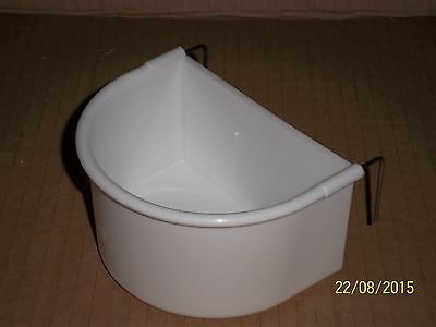 5 X Giant D Cup Feeders For Cage & Aviary Birds