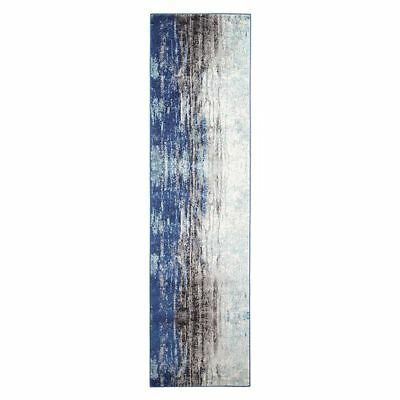NEW Rug Culture Naveros Oriental Runner Rug, Blue