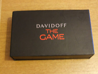 Davidoff , The Game, Boxed Poker Set Contents New and Sealed.