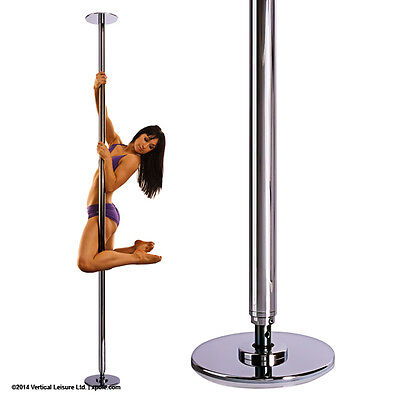 X pole sport static 45mm chrome dancing pole very good condition
