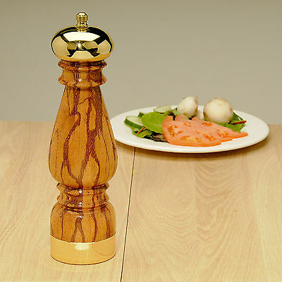 10 in. Brass Dome Peppermill Kit