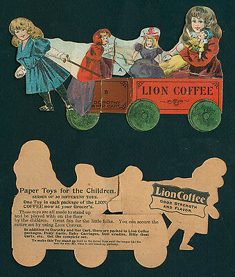 """LION COFFEE """"Dorothy and Her Cart"""" (3702)"""