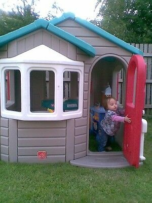 Step 2  Strong Playhouse Wendy House
