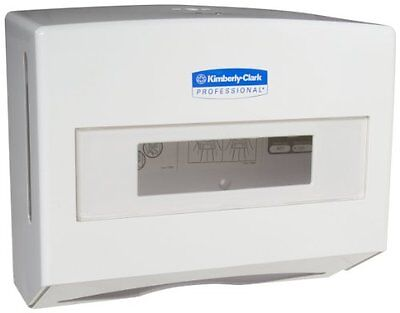 "Kimberly-Clark Professional 09217 White ScottFold Compact Towel Dispenser, 9""..."