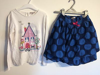 Marks And Spencers Girls Christmas Outfit 6-7 yrs