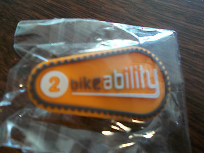 Bikeability Cycling Badge Rubber Level 2 Cycle Proficiency Brand New in wrapper