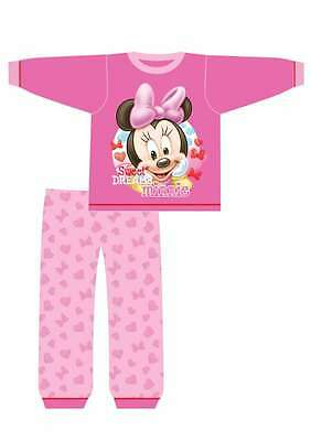 baby girls minnie mouse pyjamas(sweet dreams minnie)