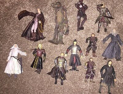LOTR figures bundle 12 in total Lord of the Rings