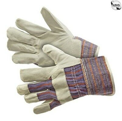 Work Gloves Canadian Pat Leather Palms - WS7