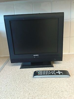 "Murphy 15"" DTV 1500V digital TV  with built in Freeview"