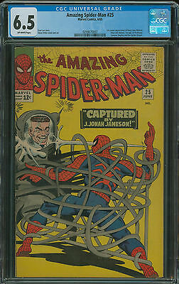 Amazing Spider-Man #25 CGC 6.5 1st appearance of Mary Jane Watson