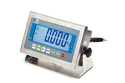 MI102S Stainless Steel Weighing Indicator ( Display) with 4-20mA analogue output