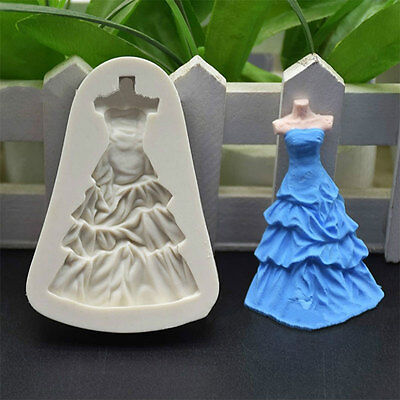 Princess Skirt Cake Cookies Bread Decorating Baking Christmas Kitchen Mould