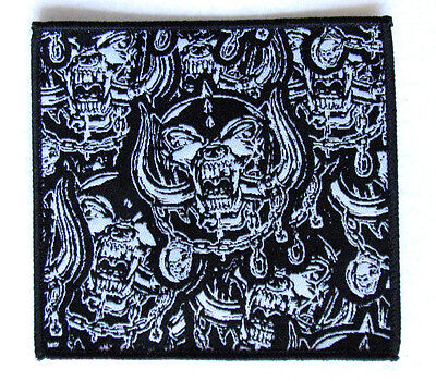 Motorhead Patch - Official Warpig Woven Sew/Iron On Used Razor Angel Witch Lemmy