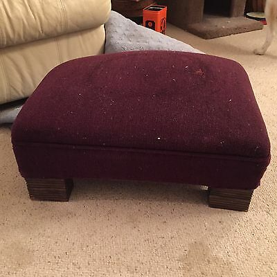 American Victorian Foot Stool Antique