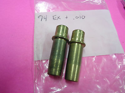 """USA ROWE RPL Harley-Davidson 74"""" +.010 Bronze EXHAUST Guides SOLD EACH"""