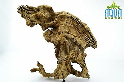 (A-5639)  Oak Bogwood Aquarium Wood (Red moor) Size L