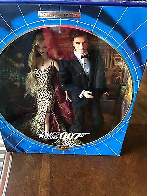 Barbie (James Bond ) TWO DOLL SET NRFB PERFECT