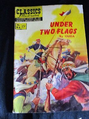 "Old!! 1951 $.15 Classics Illustrated Comic Book: ""Under Two Flags"" #86"