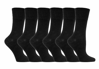 12Prs of Ladies Diabetic Sock with Honey Comb Top and Hand linked Toe Seam 4-8uk
