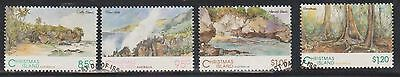 (AUP-139) 1993 Christmas Island 4set scenic views 85c to $1.20