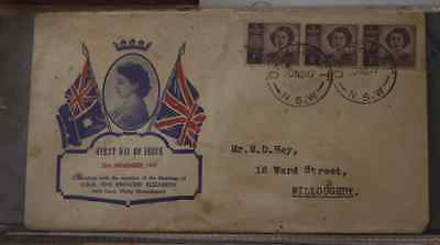 First Day Cover - 1947