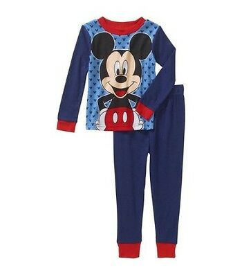 NEW Mickey Mouse 2pc Pajama Set Toddler Boys 4T 5T