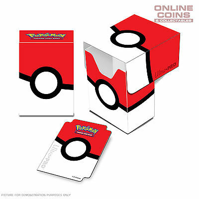 ULTRA PRO - Pokémon - Pokeball - Pokemon Full View Deck Box