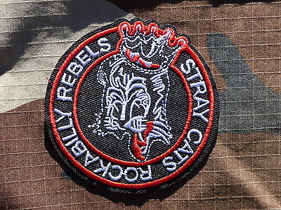 ECUSSON PATCH THERMOCOLLANT toppa aufnaher STRAY CATS rockabilly musique rock