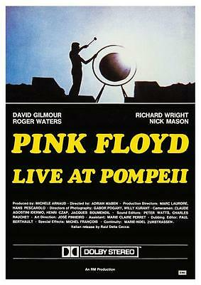 Pink Floyd  **POSTER**  Live at Pompeii  -  AMAZING IMAGE