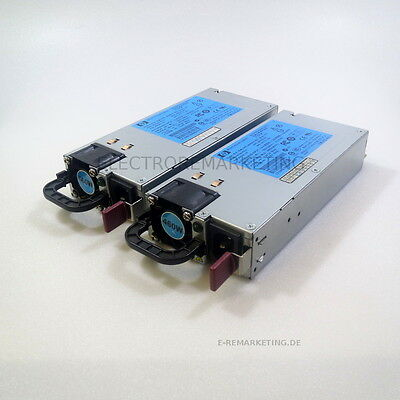2 St. HP DPS-460W Power Supply RMN:HSTNS-PD14 P/N:499250-101 GPN:499249-001